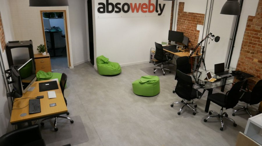 Absowebly Office - Ops Room Development, Studio and Web Clinic