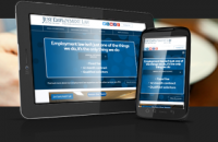 Employment Law Solicitors - Custom Website with Mobile