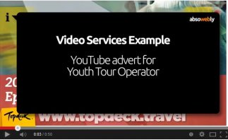 Video Ad for tour operator (no video footage supplied)
